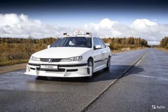 Úristen, eladó egy Peugeot 406 taxi! Igen, olyan taxi!