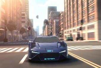 Itt az elektromos Audi, ami nem létezik, Will Smith mégis vezetheti
