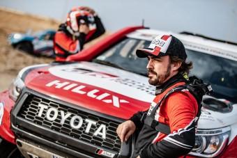 Alonso nem győzni megy a Dakarra
