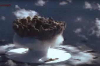 Ezt találták egy vízalatti atomrobbanás helyszínén