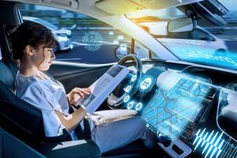 Taxit, furgont vezetnek majd az első robotok