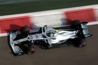 F1: Bottas a leggyorsabb, Vettelék koccantak a teszten
