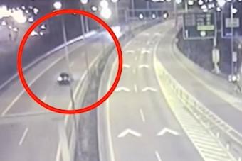 Forgalommal szembe hajtott fel az autópályára a részeg sofőr