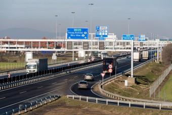 Itt folytatódik az M1-es autópálya felújítása