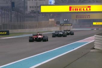 F1: Ezért nem működött a DRS a szezonzárón