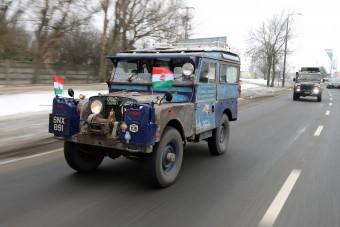 Land Rover, amit nem lehet agyoncsapni