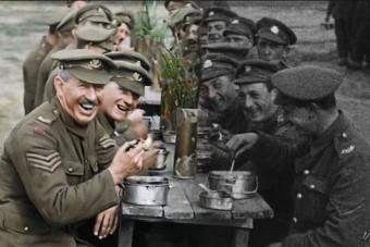 Kiszínezték az első világháborút és most itthon is megnézheted