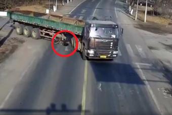 Ezt a napot nem felejti el a biciklis, akit elsodort a kamion