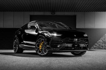 Megpiszkálták a Lamborghini SUV-ját, brutális szörnyeteg született