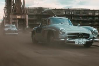 Nem kérdés, hogy a Mercedes ezzel a klippel elkészítette az év reklámját