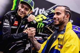 F1: Hamilton összetörte Rossi motorját?