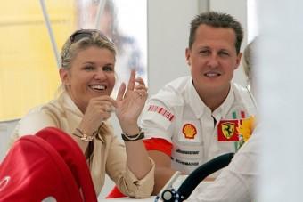 Schumacher felesége pozitívan nyilatkozott