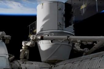 Dokkolt a Nemzetközi Űrállomáson a SpaceX