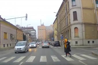 Lecsapnak a rendőrök a szabálytalan gyalogosokra