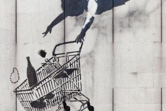 Budapesten lesz kiállítása a leghíresebb graffitisnek