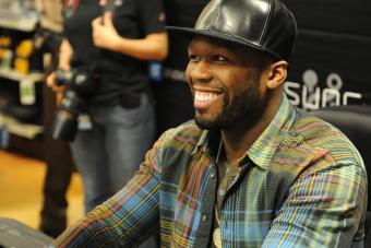 Csillagot kapott 50 Cent Hollywoodban