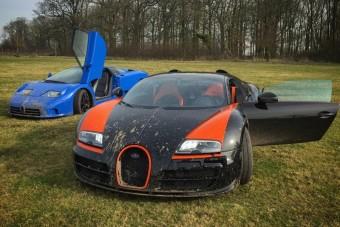 Porban forgatták meg az 1200 lóerős Bugattit