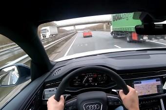 300-zal hasít az Audi 600 lóerős nehézbombázója