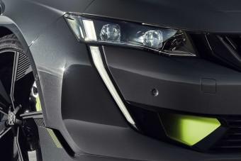 Gyártásba kerül a Peugeot sportszedánja
