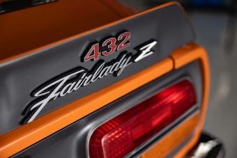 Rettentő ritka a Skyline motoros 240Z
