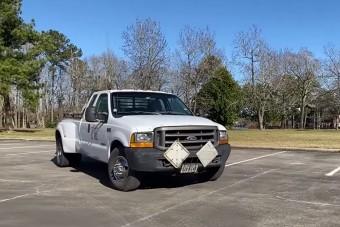 2 millió kilométert futott ez a Ford pick-up