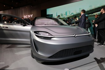 A Sony autója mutatja igazán a közlekedés forradalmát