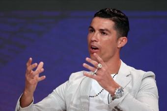 A világ legdrágább Rolexét viselte Cristiano Ronaldo