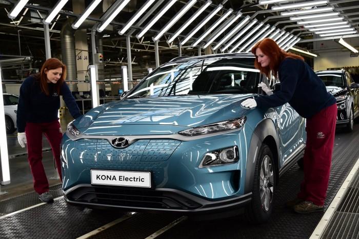 Európában készül a Hyundai villanyautója 1