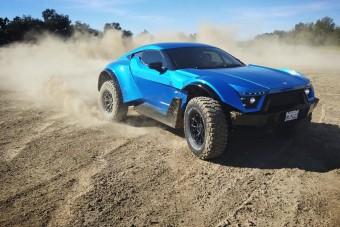 Itt a 720 lóerős sportautó, méghozzá terepre!