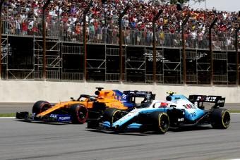 F1: A McLaren nyúlta le a Williams szponzorát