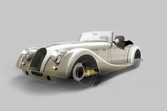 Aranyba csomagolják a 70 éves autót
