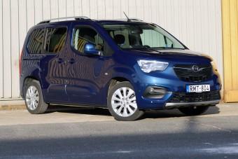 Öt üléssel is jó bármire - Opel Combo Life