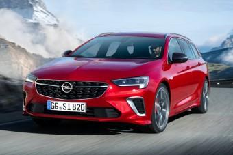 Megújult az Opel sportszedánja