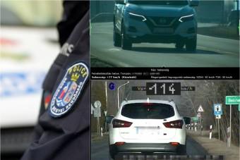 Perceken belül kétszer futott magyar traffipaxba a külföldi autós, 60 ezer forintja bánja