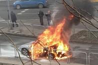 Szinte porrá égett ez az egyedi Lamborghini 1
