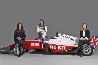 F1-es hétvégék betétfutama lesz a női F1