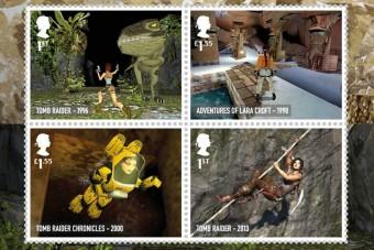 Videojátékok képeivel díszített bélyegeket adott ki a brit posta