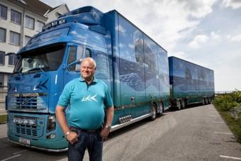 Norvégia engedélyezte a 24 méter hosszú kamionokat