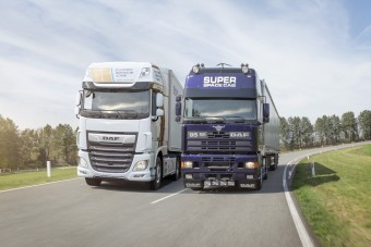 Konyakszínű bőrbelsővel készülnek ezek a kamionok