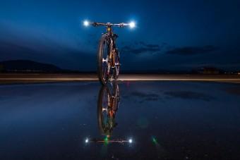 Fénykarddal irányíthatod a bringádat