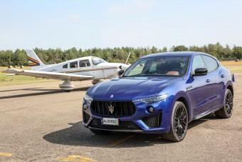 Vezettük: Maserati Levante Trofeo