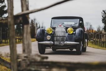 Nincs sötét folt a kabrió Bugatti múltjában