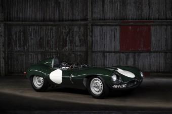 Ma is versenyre kész a 65 éves Jaguar D-Type