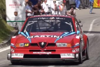 Turbóval vagy nélküle, az Alfa Romeo 155 versenygép mindenhogy zseniális