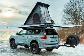Kanadából érkezik a tökéletes téli kempingjármű