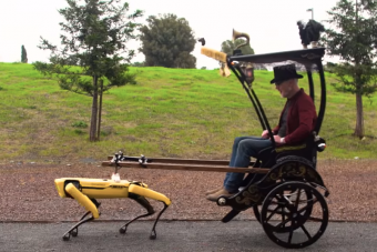 A jövőben négylábú robotrabszolgáink lehetnek