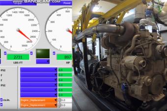 Unalmas videó 923 lóerővel és 3800 Nm nyomatékkal