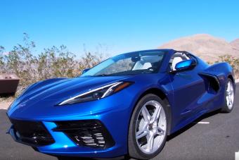 Így ugrik az új Corvette álló helyből 200 km/órára