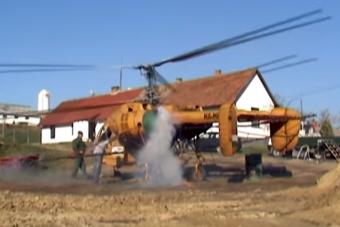 Makacskodva, de indul a magyar vidék legismertebb helikoptere