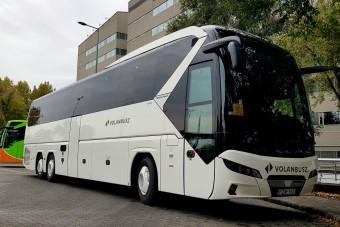 29 új buszt vesz a Volánbusz